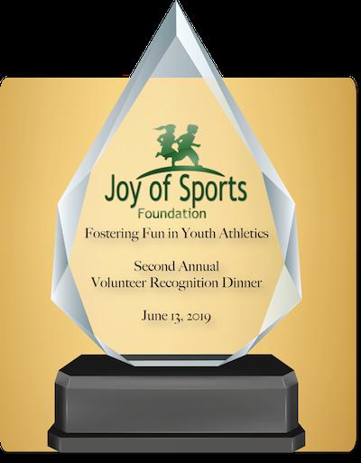 Volunteer Recognition Dinner – Joy of Sports Foundation